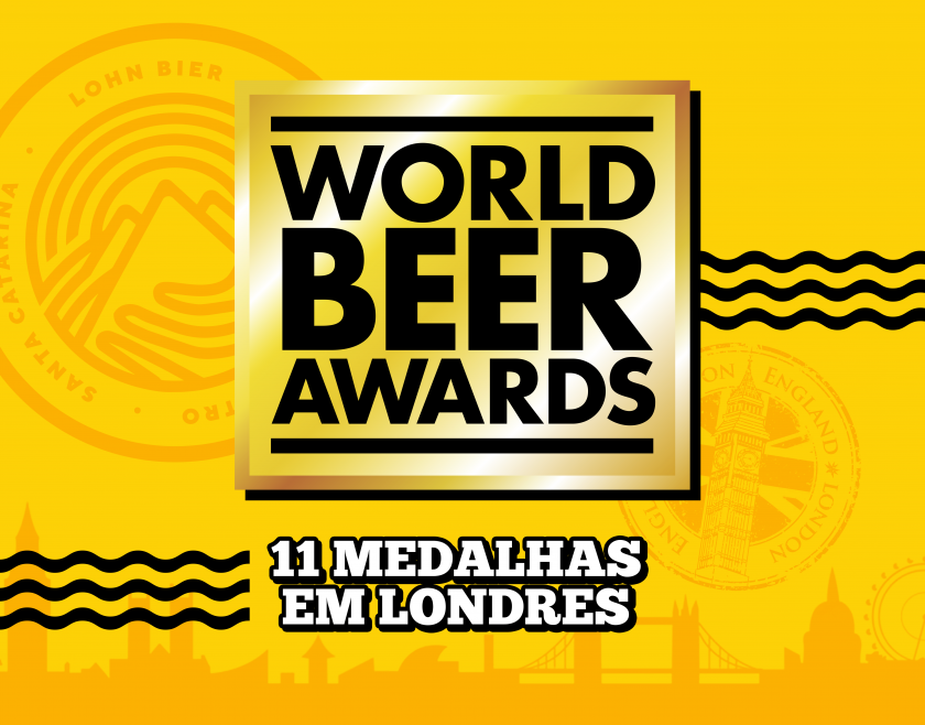 Lohn Bier conquista 11 medalhas no World Beer Awards 2019